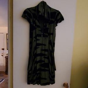 Kensie rayon spandex cap sleeve dress